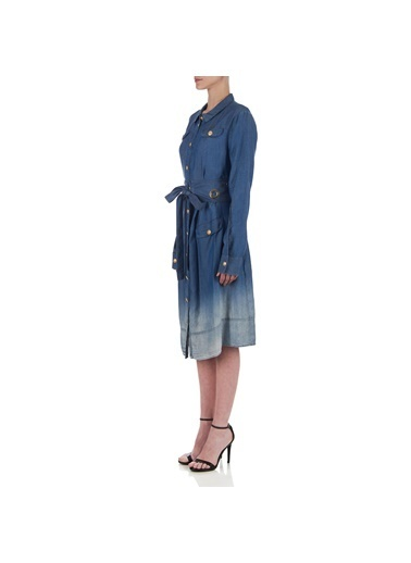 Balmain Elbise Mavi